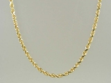 Gold But Gold - Jewelry Stores - 10K Super-Solid Rope Chain 3 mm