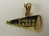 Gold But Gold - Jewelry Stores - Cheers Leader Horn Charm