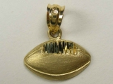 Gold But Gold - Jewelry Stores - Football Charm