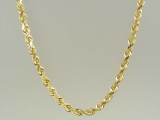 Gold But Gold - Jewelry Stores - 10K Super-Solid Rope Chain 4 mm