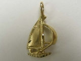 Marine Charms - Jewelry Stores - Sail Boat Charm