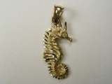 Marine Charms - Jewelry Stores - Sea Horse Charm