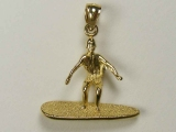 Marine Charms - Jewelry Stores - Surfing boy Charm