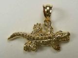Animal Charms - Jewelry Stores - Crocodile Charm