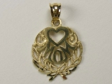 Heart Charms - Jewelry Stores - Mom Heart Charm