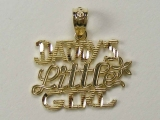Gold But Gold - Jewelry Stores - Daddys Little Girl Charm