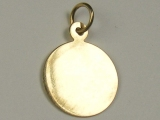Engravable Charms - Jewelry Stores - Large Engravable Circle Charm