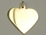 Engravable Charms - Jewelry Stores - Engravable Heart Charm