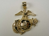 Bird Charms - Jewelry Stores - Marine Corps Eagle Charm