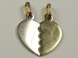 Engravable Charms - Jewelry Stores - Breakable into Two Charms / Engravable Heart