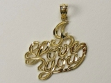 Gold But Gold - Jewelry Stores - I Love You Charm