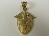 Bird Charms - Jewelry Stores - America Eagle Badge Charm