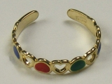 Gold But Gold - Jewelry Stores - Colored hearts Toe Ring