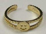 Gold But Gold - Jewelry Stores - Smiley Face Toe Ring
