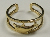 Gold But Gold - Jewelry Stores - Single Dolphin Toe Ring