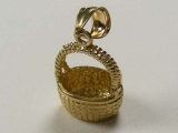 Engravable Charms - Jewelry Stores - Basket Charm