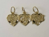 Miscellaneous Charms - Jewelry Stores - Split-Able into 3 Charms, Best of Friends Charm