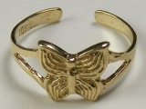 Gold But Gold - Jewelry Stores - Butterfly Toe Ring