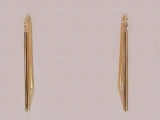 Gold But Gold - Jewelry Stores - Earrings, 31 mm x 18 mm
