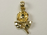 Talking Charms - Jewelry Stores - Yellow rose Charm