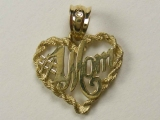 Gold But Gold - Jewelry Stores - 1 Mom Heart Charm