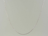 White Gold Chains - Jewelry Stores - Super-Solid Rope Chain 1 mm
