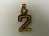 Miscellaneous Charms - Jewelry Stores - Number 2 Charm