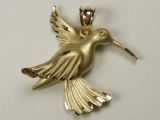 Bird Charms - Jewelry Stores - Humming Bird Charm