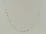 White Gold Chains - Jewelry Stores - 10k Wheat Chain 1 mm