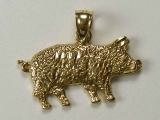 Animal Charms - Jewelry Stores - Pig Charm
