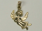 Religious Charms - Jewelry Stores - Praying Angel CharmPraying Angel Charm