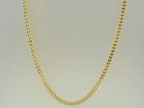 Gold But Gold - Jewelry Stores - Semi-Solid Franco Chain 3 mm