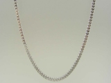 White Gold Chains - Jewelry Stores - Semi-Solid Franco Chain 3 mm