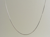 White Gold Chains - Jewelry Stores - 10k Snake Chain 0.75 mm