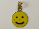 Miscellaneous Charms - Jewelry Stores - Smiley Yellow Face Charm