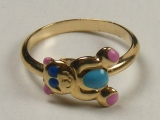 Gold But Gold - Jewelry Stores - Puppy Baby Ring 12 mm Inner Diameter