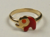 Baby Rings - Jewelry Stores - Snail Baby Ring 12 mm Inner Diameter