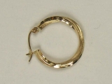 Yellow Gold Hoops - Jewelry Stores - Hoops, 20 mm