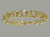 Gold But Gold - Jewelry Stores - Semi-Hollow Charm Bracelet 10 mm