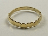 Gold But Gold - Jewelry Stores - Hearts Baby Ring 15 mm Inner Diameter