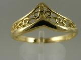 Bands and Rings - Jewelry Stores - Filigree Thumb Ring