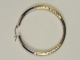 Yellow Gold Hoops - Jewelry Stores - Hoops, 44 mm