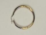 Yellow Gold Hoops - Jewelry Stores - Hoops, 38 mm