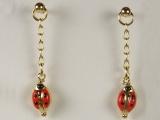 Baby Earrings - Jewelry Stores - Lady Bug Baby Earrings