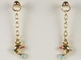 Baby Earrings - Jewelry Stores - Dolphin Baby Earrings
