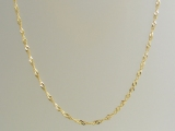 Gold But Gold - Jewelry Stores - 10k Twisted Singapore Chain 2 mm