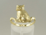 Bands and Rings - Jewelry Stores - Cat Ring