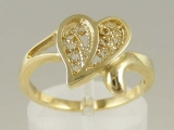 Bands and Rings - Jewelry Stores - Heart Shape Ring