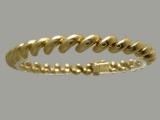 Gold But Gold - Jewelry Stores - San Marco Bracelet Diamond Cut 7.25 mm