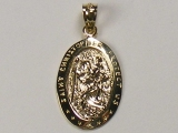 Gold But Gold - Jewelry Stores - Saint Christopher Charm